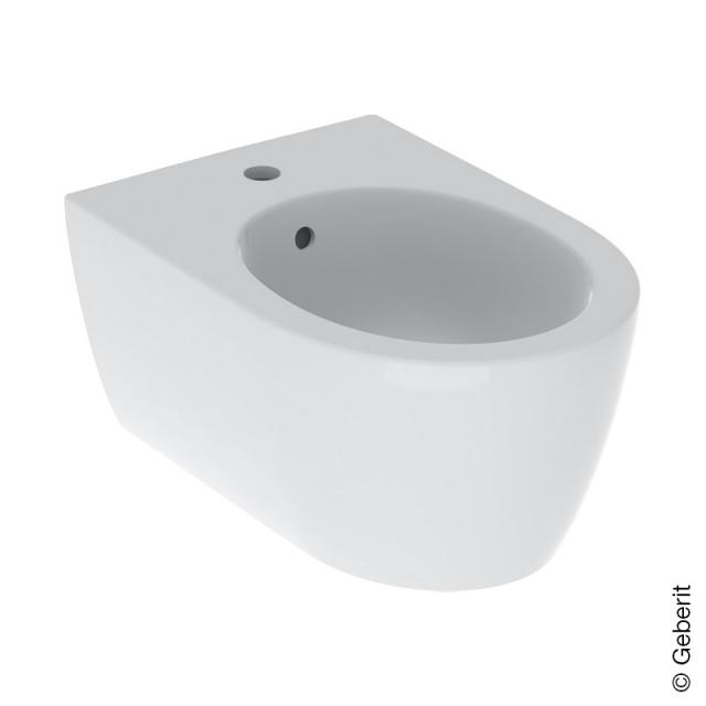 Geberit iCon wall-mounted bidet white, with KeraTect