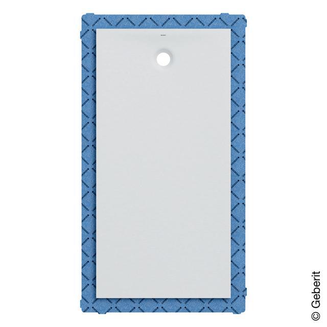 Geberit Olona rectangular shower tray