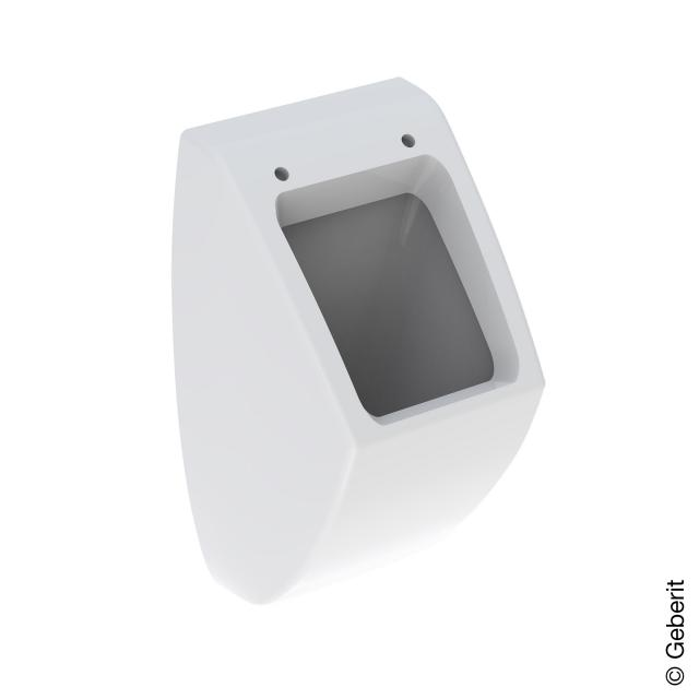 Geberit Pareo urinal with lid mounting, rear supply white, with KeraTect