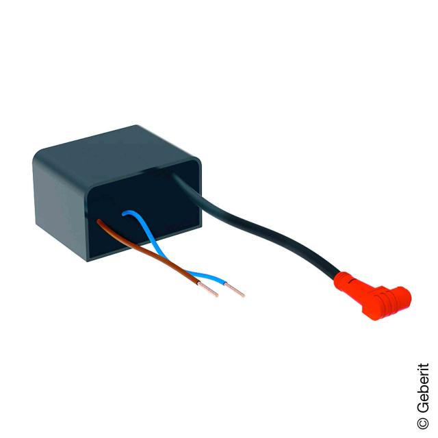 Geberit power supply for electrical junction box