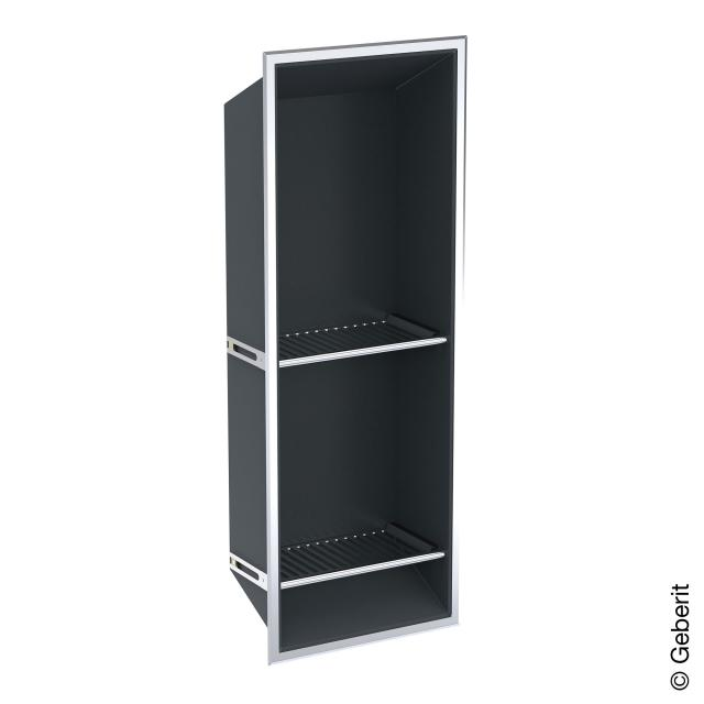 Geberit recessed storage box with shelves