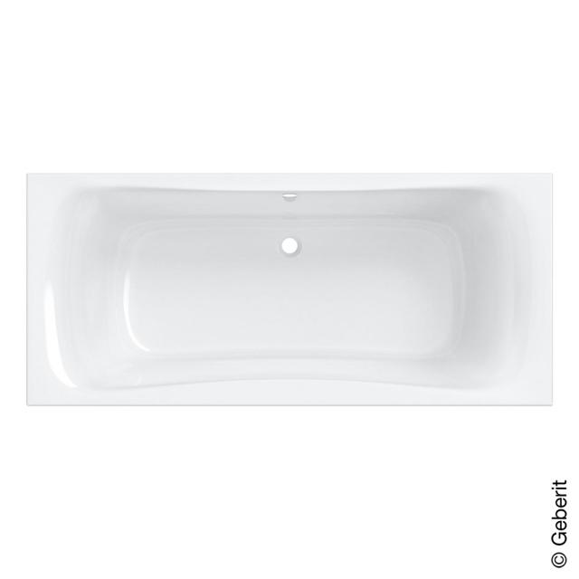Geberit Renova Duo rectangular bath, built-in