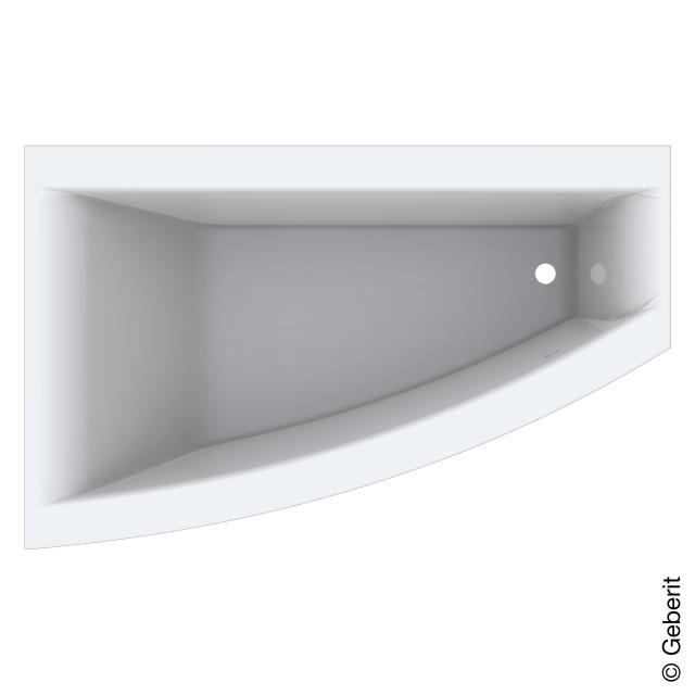 Geberit Renova Plan, corner bath, built-in
