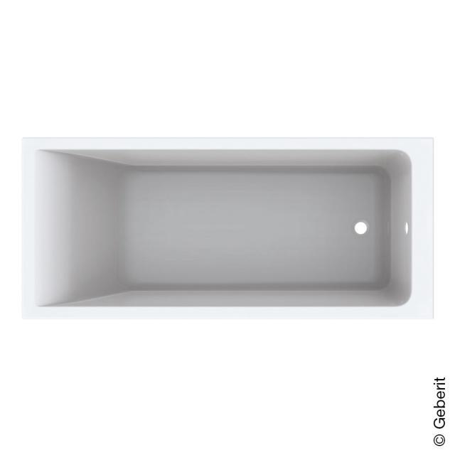 Geberit Renova Plan rectangular bath, built-in