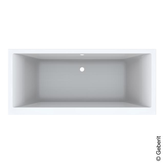 Geberit Renova Plan Duo rectangular bath, built-in