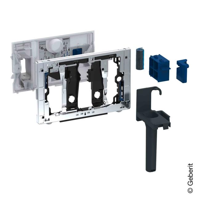 Geberit slot for DuoFresh stick for Sigma concealed cistern chrome