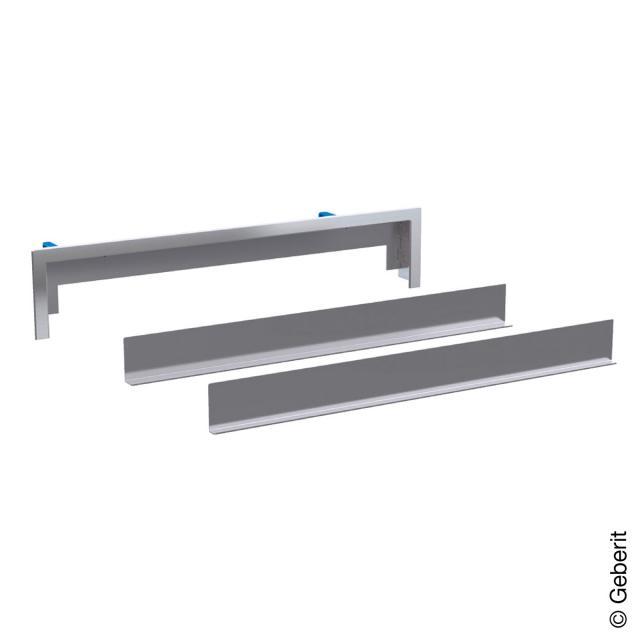 Geberit trim set for Geberit wall outlet, tileable