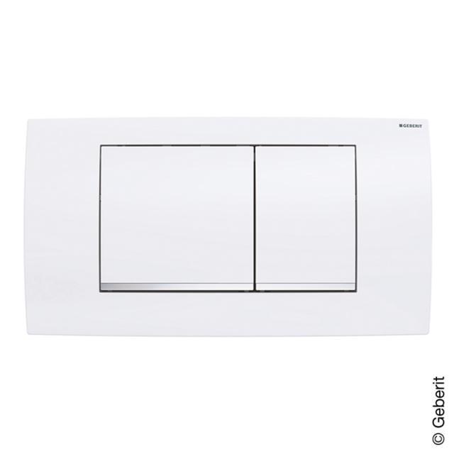 Geberit Twinline flush plate white/chrome