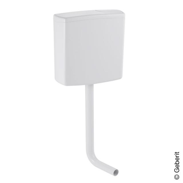 Geberit wall-mounted cistern AP140 with dual flush, for flush valve white