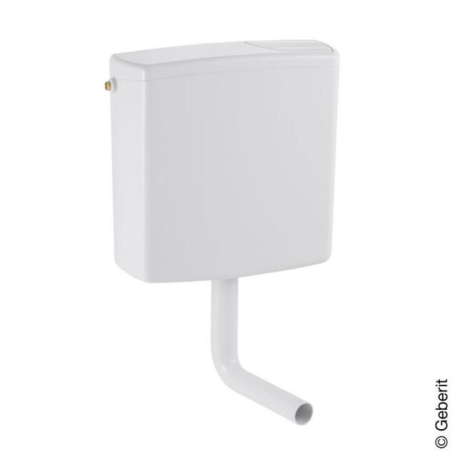 Geberit wall-mounted cistern AP140 with dual flush white