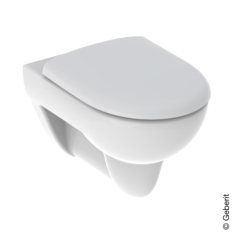 Geberit Renova wall mounted, washdown toilet, with toilet seat ...