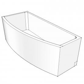Schröder bath support for Compact left corner