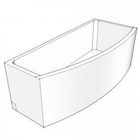 Schröder bath support for Compact right corner