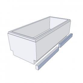 Schröder bath support for Lupor/Lagoon L: 190 W: 90 cm