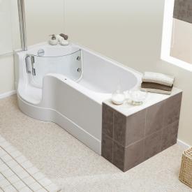Schröder Pazifik bath with shower zone left corner