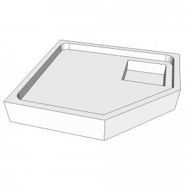 Schröder shower tray support for Asta F