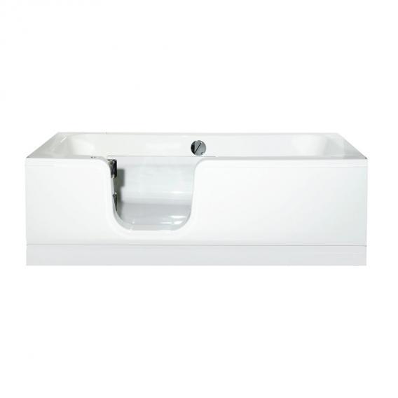 Schröder Atlantik bath with shower zone left corner