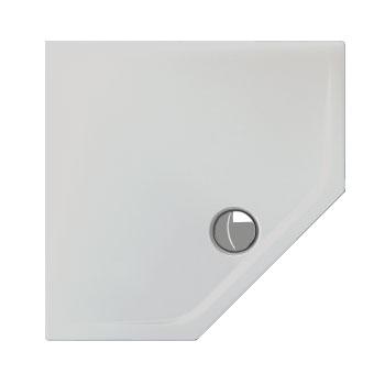 Schröder Adria F pentagonal shower tray