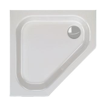 Schröder Alicante F pentagonal shower tray