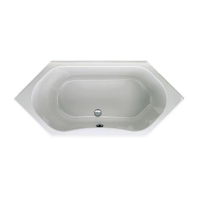 Schröder Carina hexagonal bath