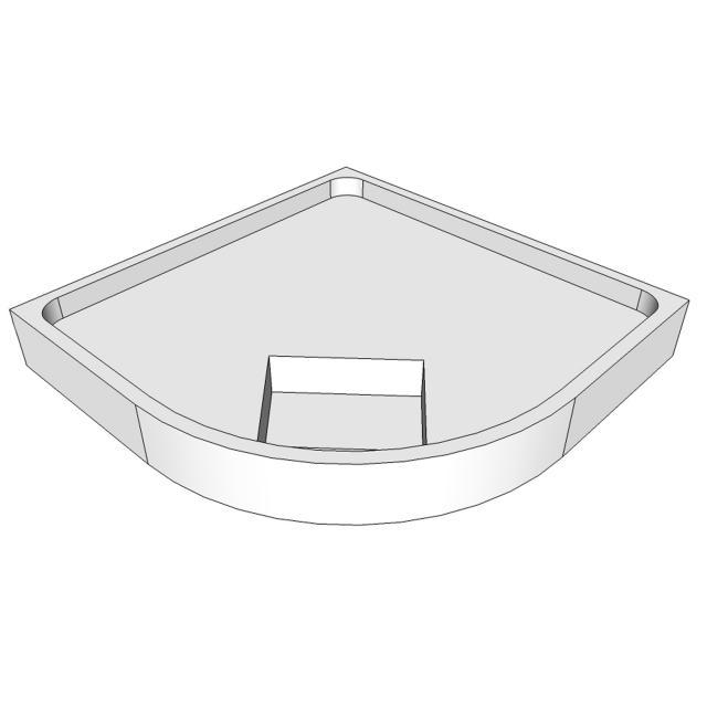 Schröder shower tray support for Adria R
