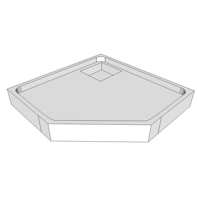 Schröder shower tray support for Arenal F
