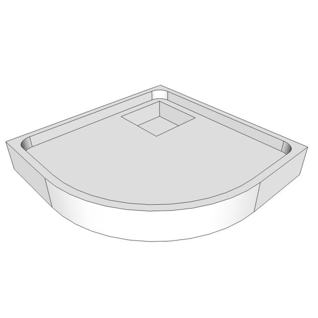 Schröder shower tray support for Arenal R