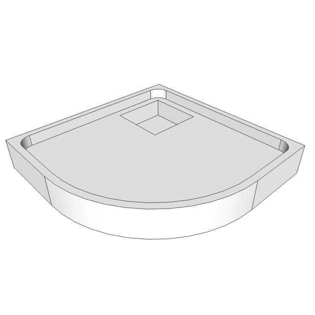 Schröder shower tray support for Ramera R