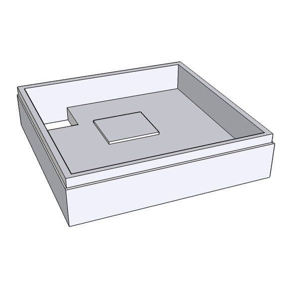 Schröder shower tray support for Tino E