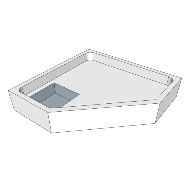 Schröder shower tray support for Tino F