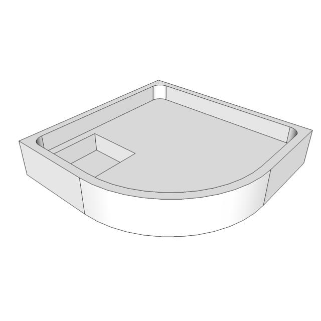 Schröder shower tray support for Tino R
