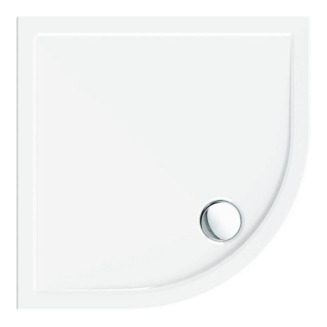 Schröder Sito R quadrant shower tray with panel
