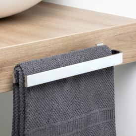 Giese fixed, double towel bar for bathroom furniture