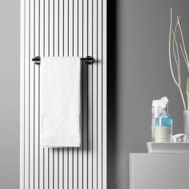 Giese towel rail with magnetic fixture for radiator