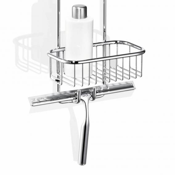Giese Bodyguard hanging shower baskets with squeegee
