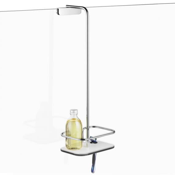 Giese Vipa shower basket with bracket for razor, for glass panels up to 9 mm