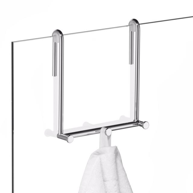 Giese Family with 3 hooks for glass shower panel