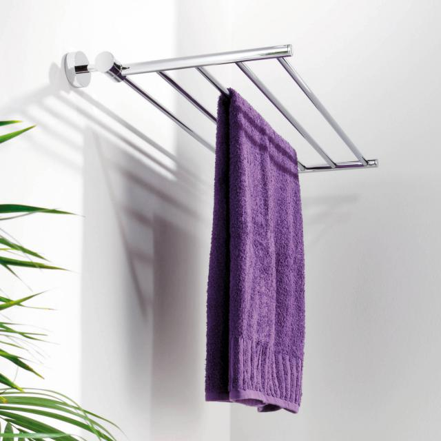 Giese foldable towel rack