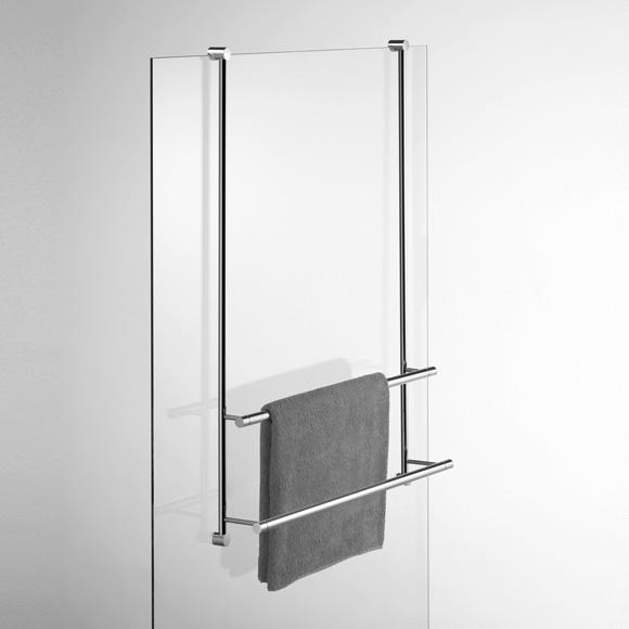 Giese Server towel rail for glass shower panel