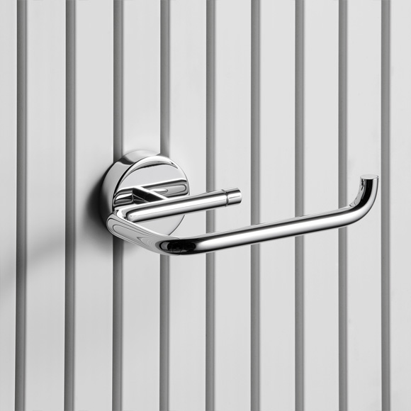 Giese toilet roll holder with magnetic mounting for radiators