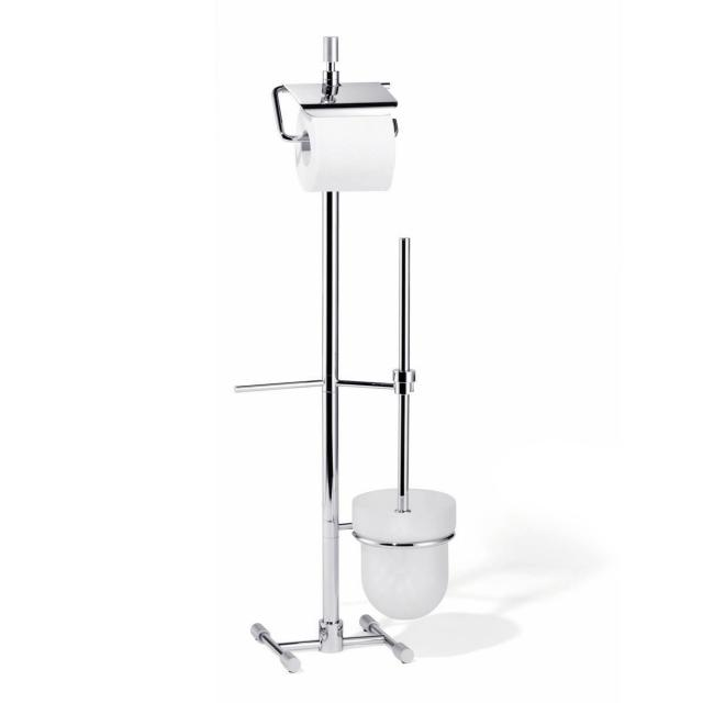 Giese toilet brush set with toilet roll holder for spare roll