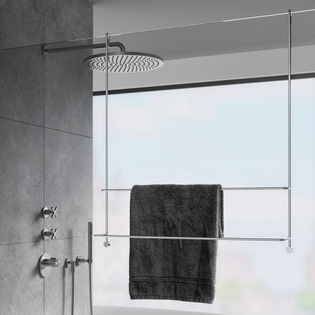 Giese towel rail for glass shower enclosure