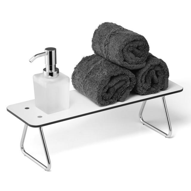 Giese washbasin board with soap dispenser