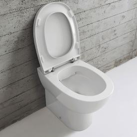 Globo 4ALL SENZABRIDA® floorstanding washdown toilet, rimless