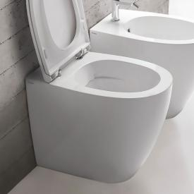 Globo 4ALL SENZABRIDA® floorstanding washdown toilet, rimless white, with CERASLIDE® and BATAFORM®