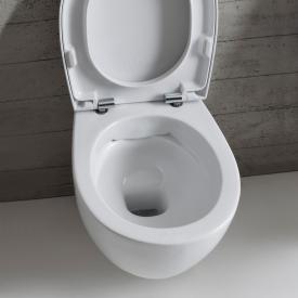 Globo BOWL+ SENZABRIDA® wall-mounted, washdown toilet, rimless