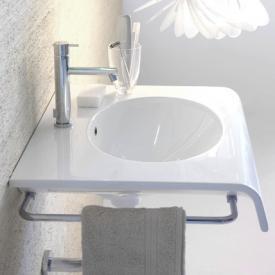Globo BOWL+ side towel rail