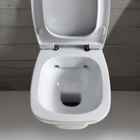 Globo DAILY SENZABRIDA® wall-mounted, washdown toilet, rimless