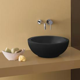 Globo FORTY3 SC countertop washbasin matt black