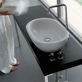 Globo FORTY3 countertop washbasin white